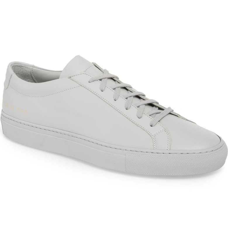 COMMON PROJECTS Original Achilles Sneaker, Main, color, GREY LEATHER