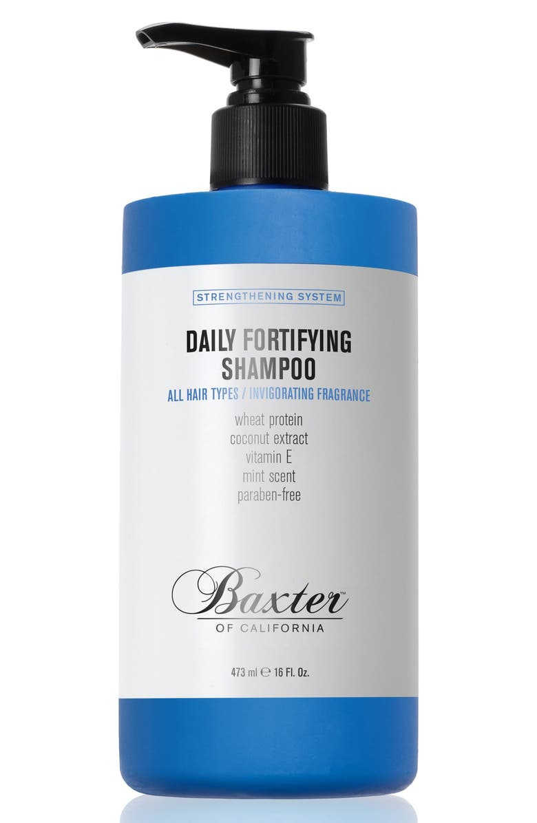 BAXTER OF CALIFORNIA Daily Fortifying Shampoo, Main, color, NO COLOR
