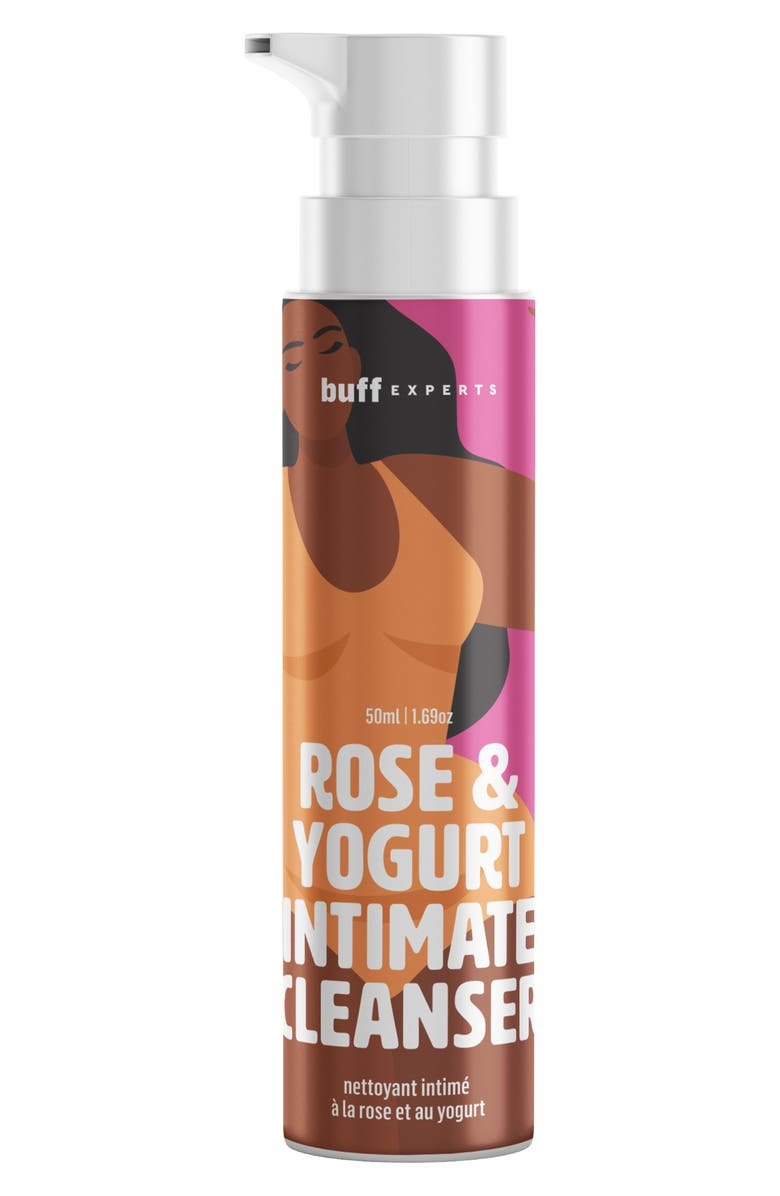 BUFF EXPERTS Rose & Yogurt Intimate Cleanser, Main, color, NO COLOR