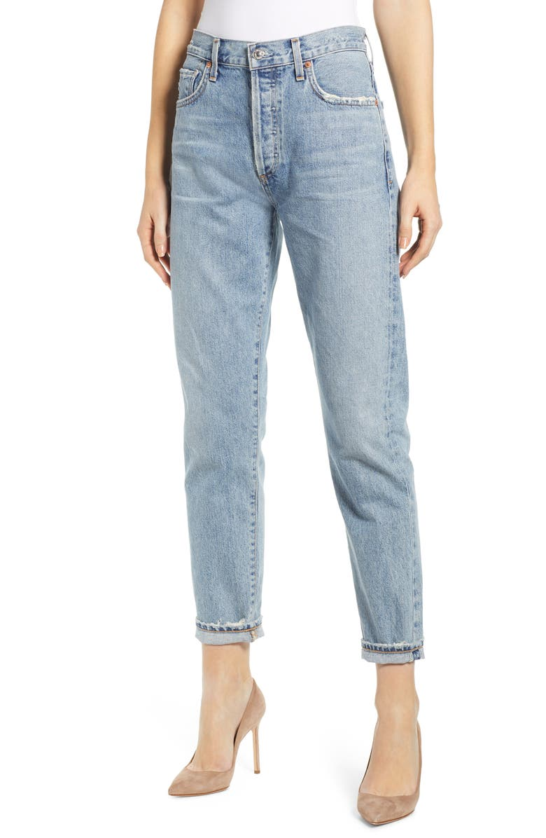 CITIZENS OF HUMANITY Liya High Waist Slim Jeans, Main, color, 459