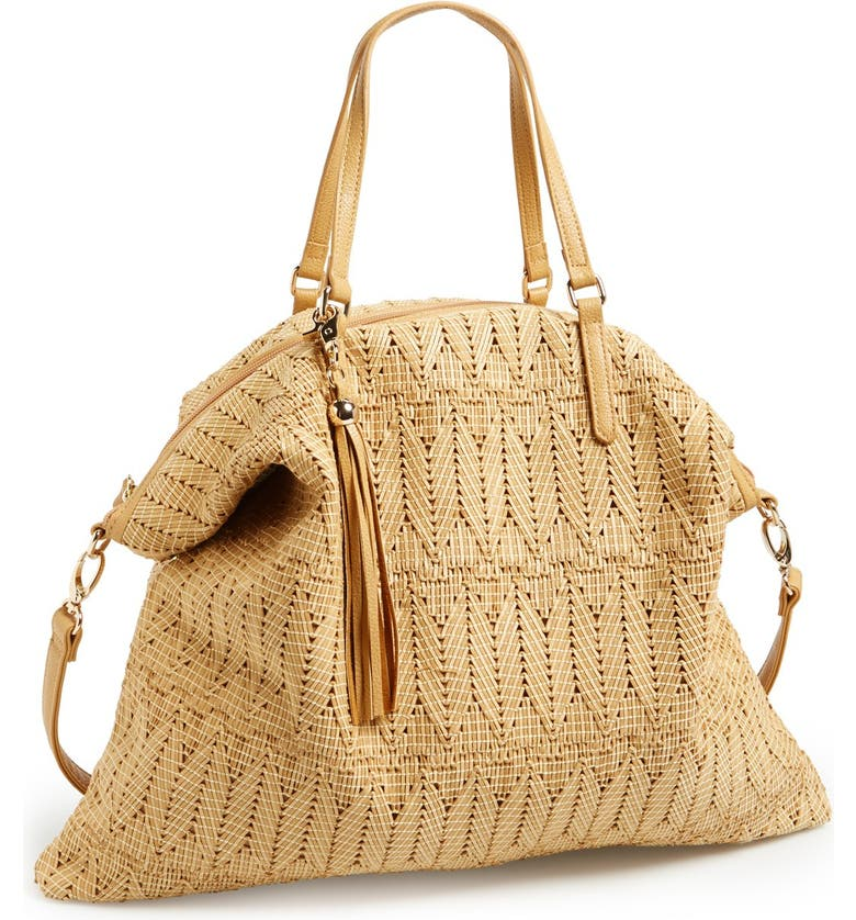 POVERTY FLATS BY RIAN Woven Tote, Main, color, 250