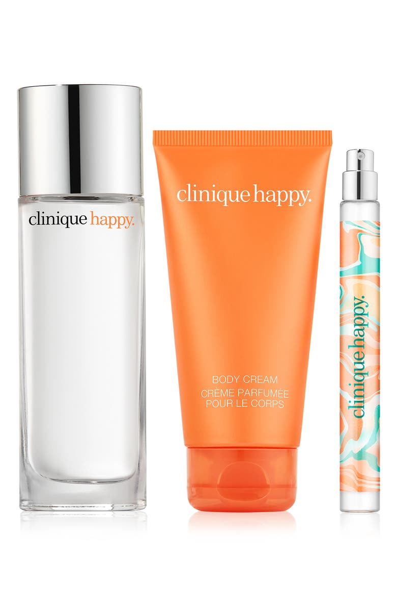 CLINIQUE Perfectly Happy Fragrance Set, Main, color, NO COLOR