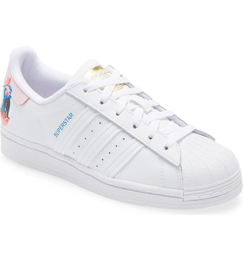 ADIDAS Superstar x Egle Sneaker, Main, color, FTWR WHITE/ CLEAR PINK