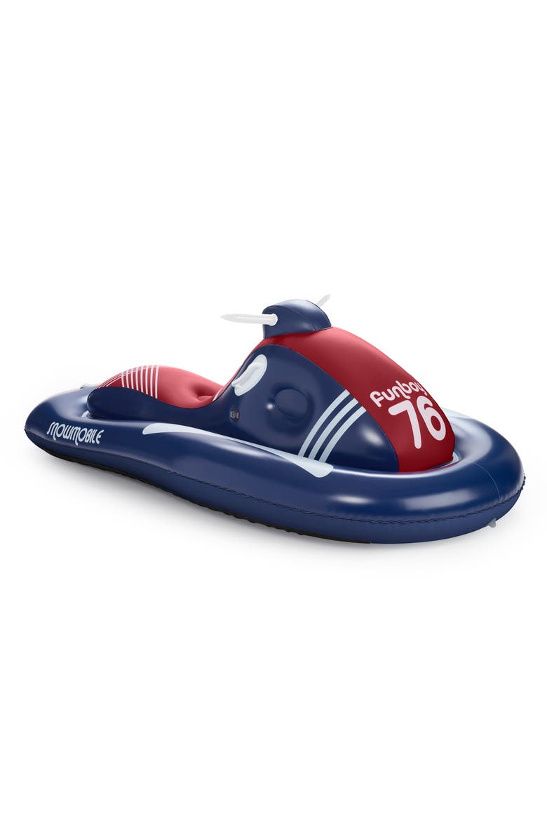 FUNBOY French Flyer Snowmobile Sled, Main, color, 401