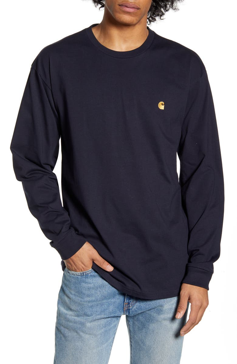 CARHARTT WORK IN PROGRESS Chase Long Sleeve T-Shirt, Main, color, 462