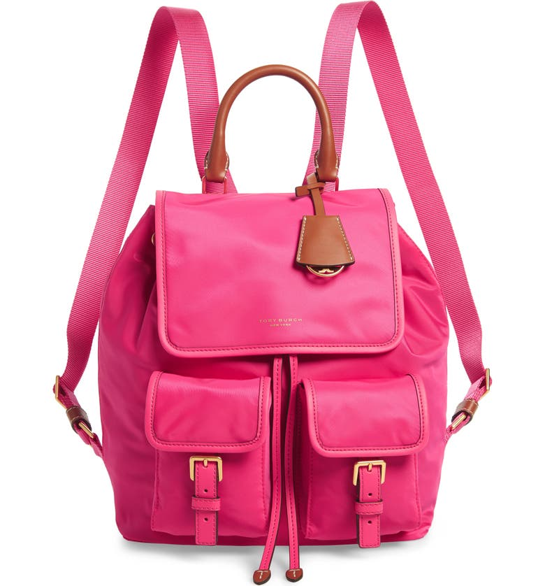TORY BURCH Perry Nylon Backpack, Main, color, 694