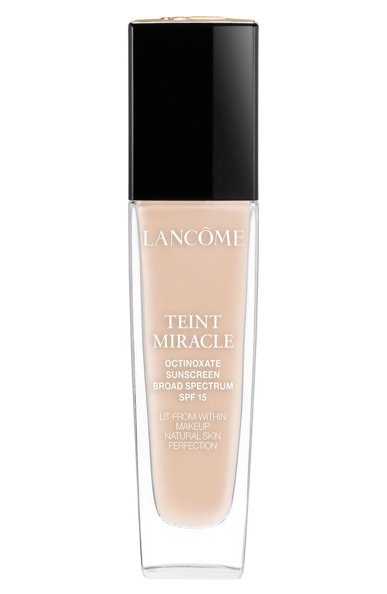 LANCÔME Teint Miracle Lit-from-Within Makeup Natural Skin Perfection Foundation SPF 15, Main, color, BISQUE 1 (N)