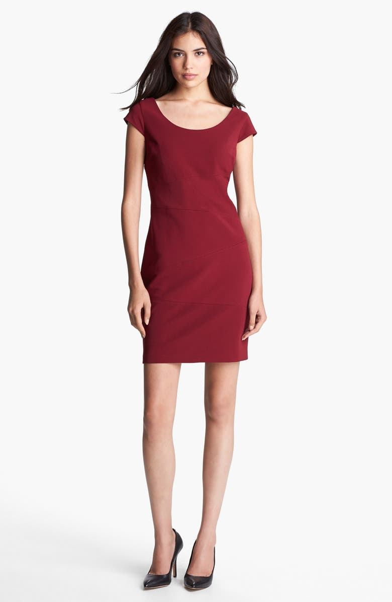 MARC NEW YORK by Andrew Marc Seamed Sheath Dress, Main, color, 606