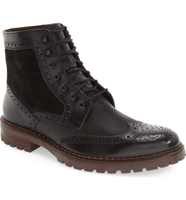 J&M 1850 'Greer' Wingtip Boot, Main, color, 001