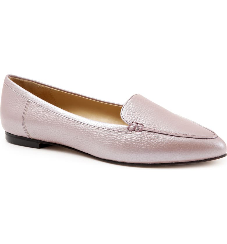 TROTTERS Ember Flat, Main, color, BLUSH LEATHER