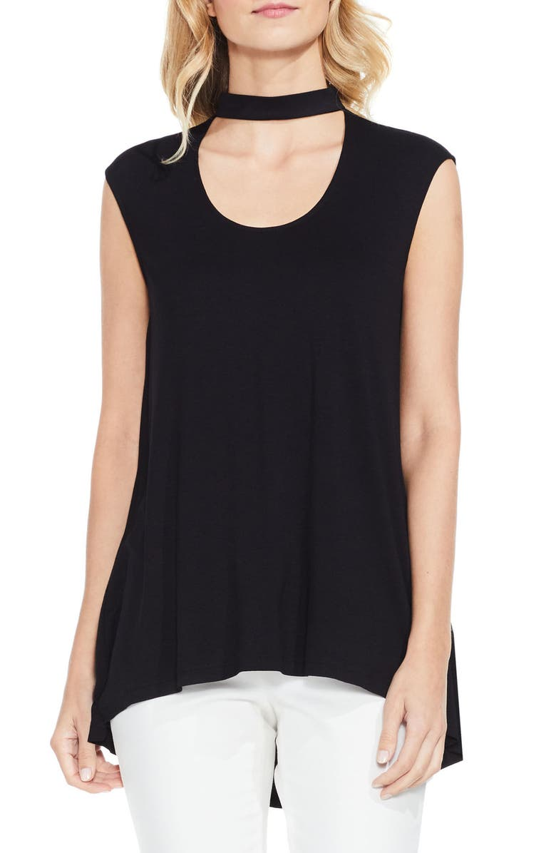 VINCE CAMUTO Choker Neck Top, Main, color, 060