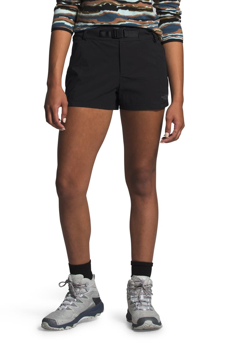 THE NORTH FACE Paramount Active Water Repellent Shorts, Main, color, 001