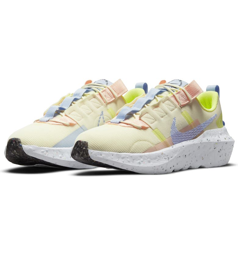 NIKE Crater Impact Sneaker, Main, color, CASHMERE/ ALUMINUM/ LIME ICE