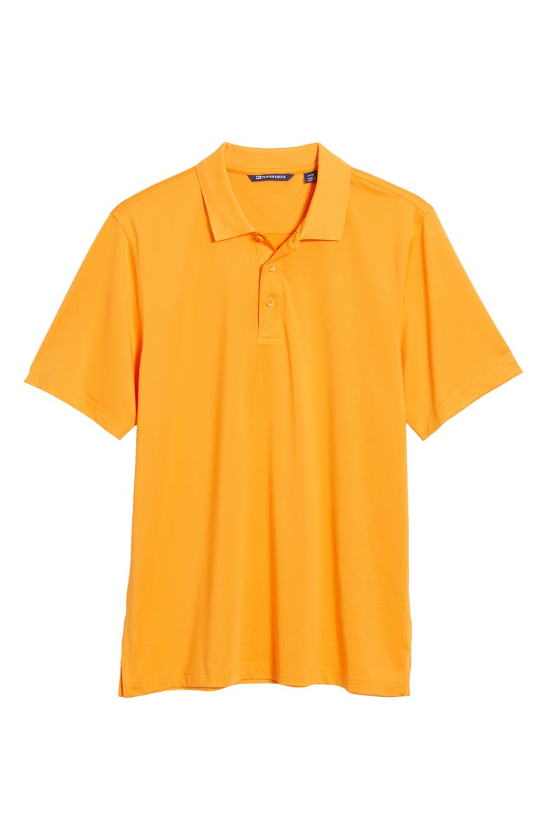 CUTTER & BUCK Forge DryTec Solid Performance Polo, Main, color, ORANGE BURST