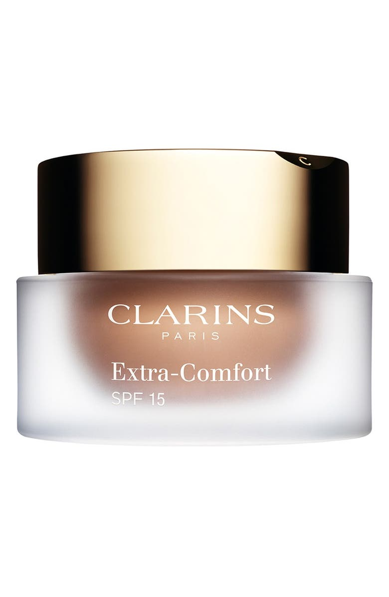 CLARINS Extra-Comfort Anti-Aging Foundation SPF 15, Main, color, 113-CHESTNUT