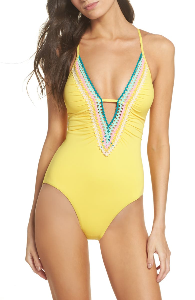 ISABELLA ROSE Pool Party One-Piece Swimsuit, Main, color, 720