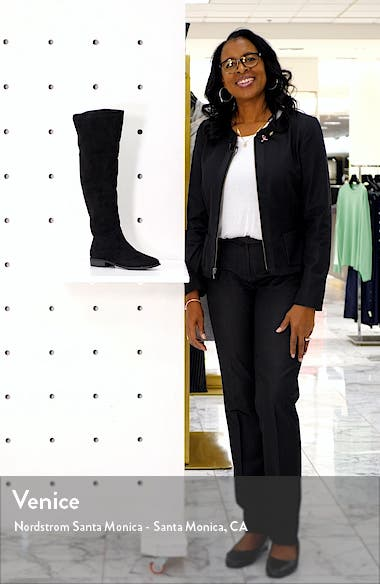 Height Vegan Over the Knee Boot, sales video thumbnail