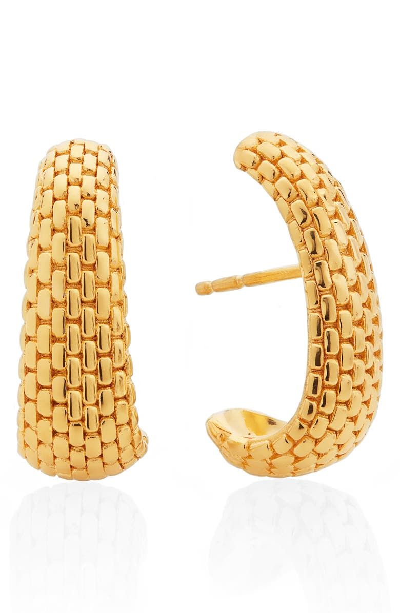 MONICA VINADER x Doina Earrings, Main, color, YELLOW GOLD