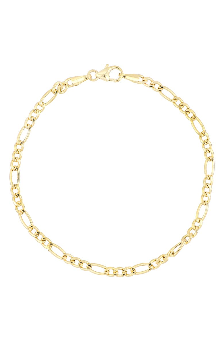 BONY LEVY Fiagro 14K Gold Chain Bracelet, Main, color, YELLOW GOLD