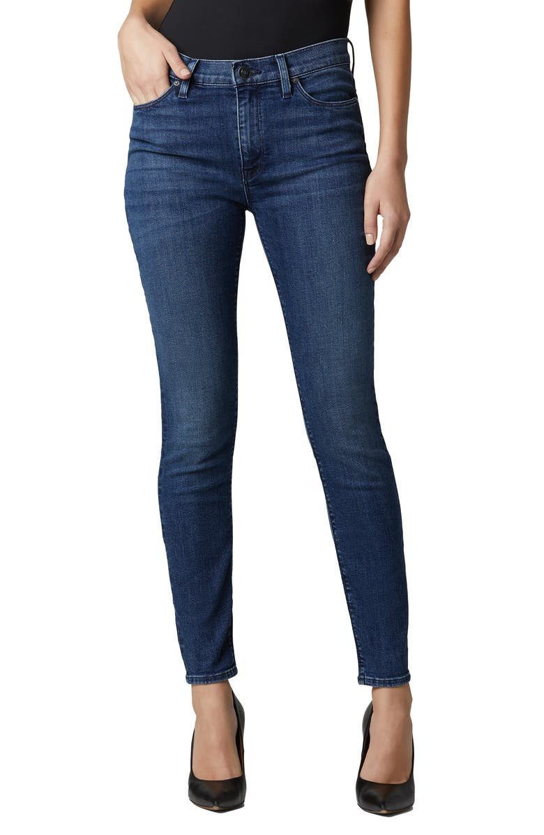 HUDSON JEANS Nico Ripped Ankle Skinny Jeans, Main, color, CARLTON