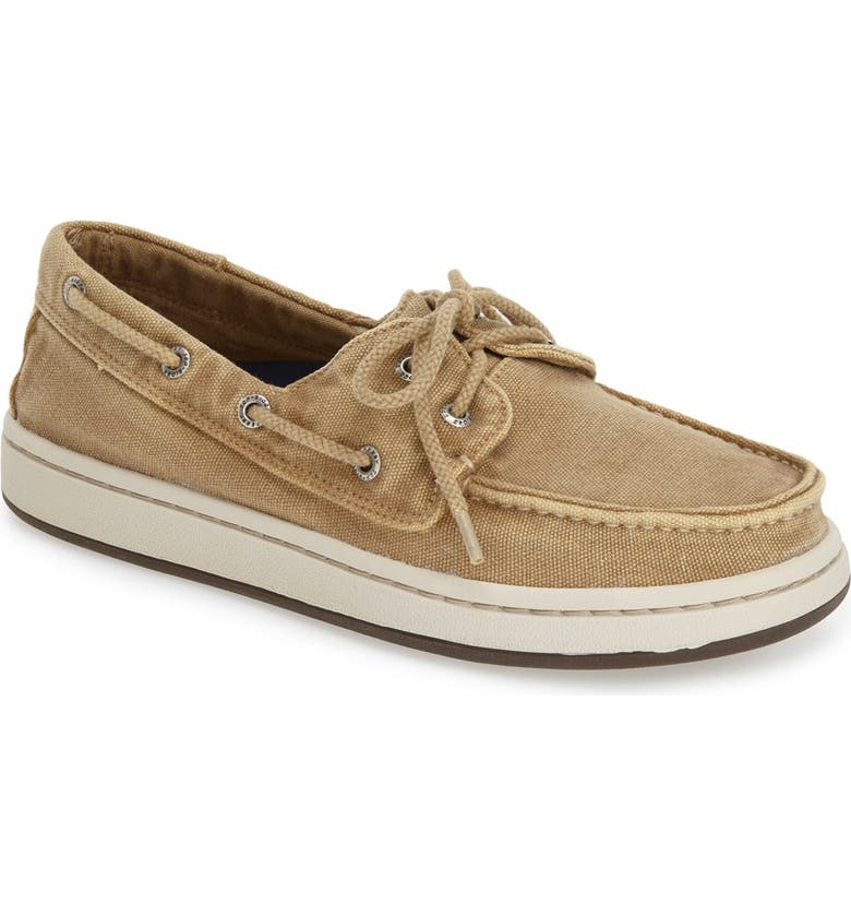 SPERRY 'Cup' Boat Shoe, Main, color, 260