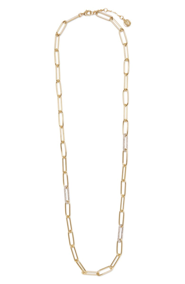 VINCE CAMUTO Long Link Necklace, Main, color, 710