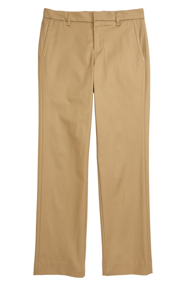 NORDSTROM Flat Front Chino Dress Pants, Main, color, 230