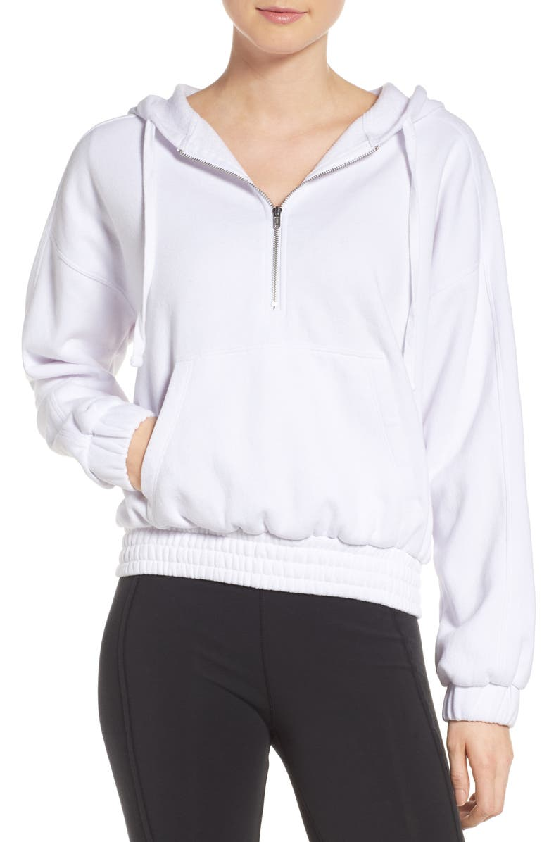 FREE PEOPLE FP Movement Retro Vibes Hoodie, Main, color, 100
