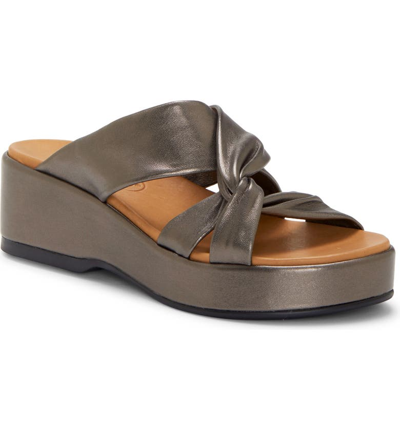 CC CORSO COMO<SUP>®</SUP> Wynnter Slide Sandal, Main, color, METALLIC LEATHER