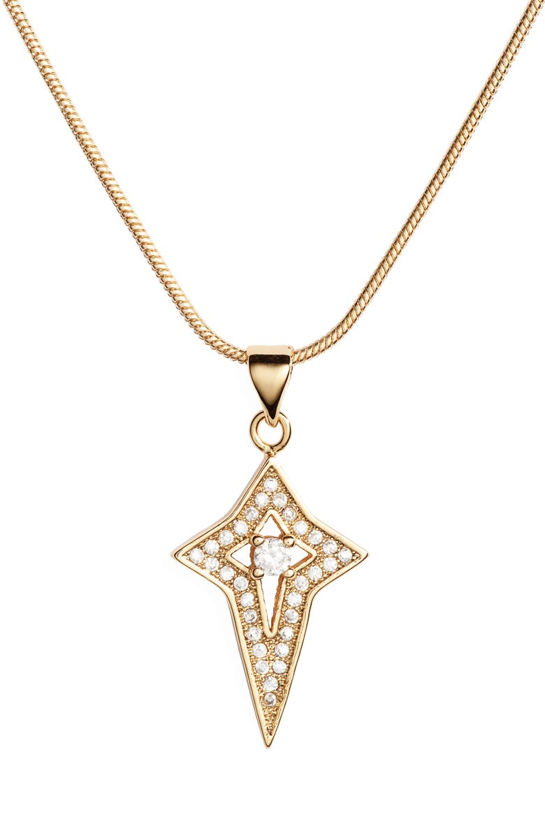 BRACHA Chosen Pendant Necklace, Main, color, 710