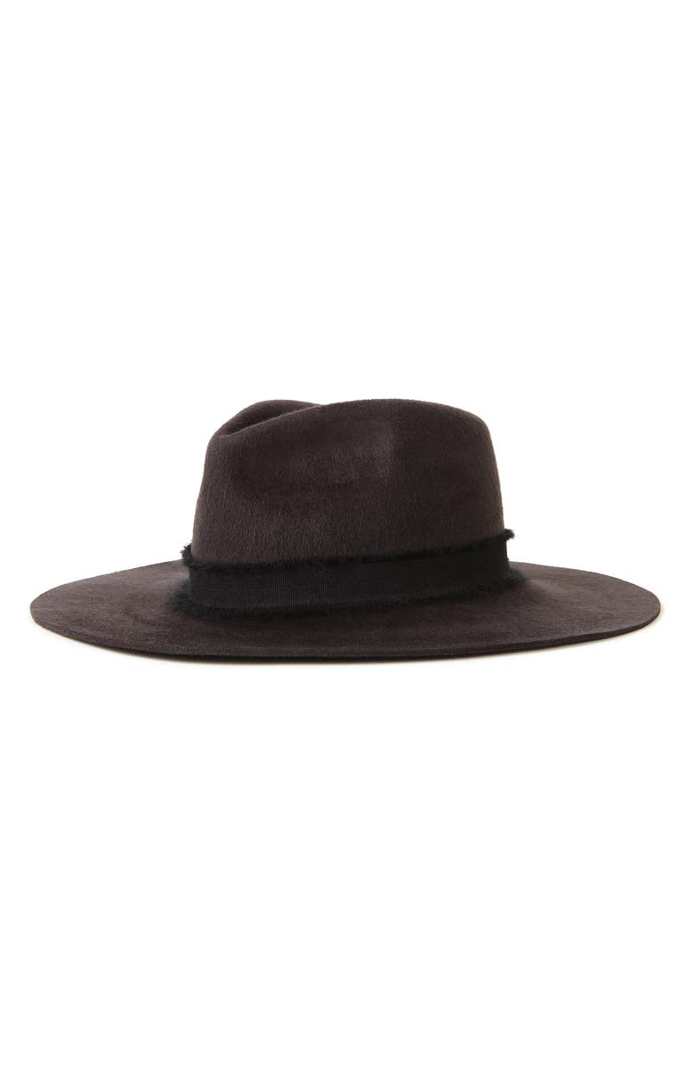 BRIXTON Ella Wool Fedora, Main, color, 001