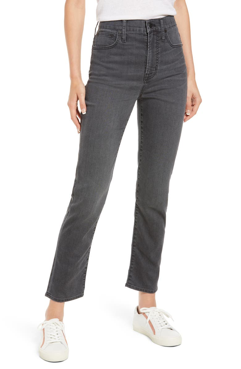 MADEWELL The Perfect Vintage Jeans, Main, color, MILBERY WASH
