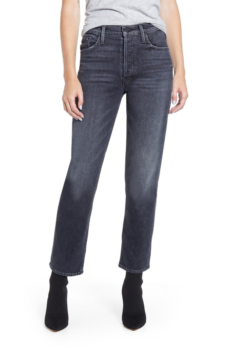MOTHER The Tomcat Ankle Jeans, Main, color, 001