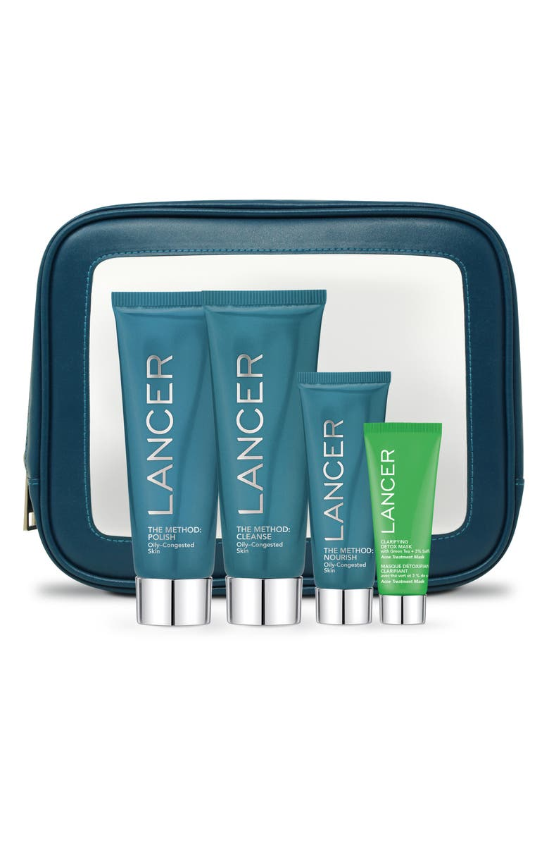 LANCER SKINCARE The Method Introduction Set for Oily-Congested Skin Types, Main, color, NO COLOR