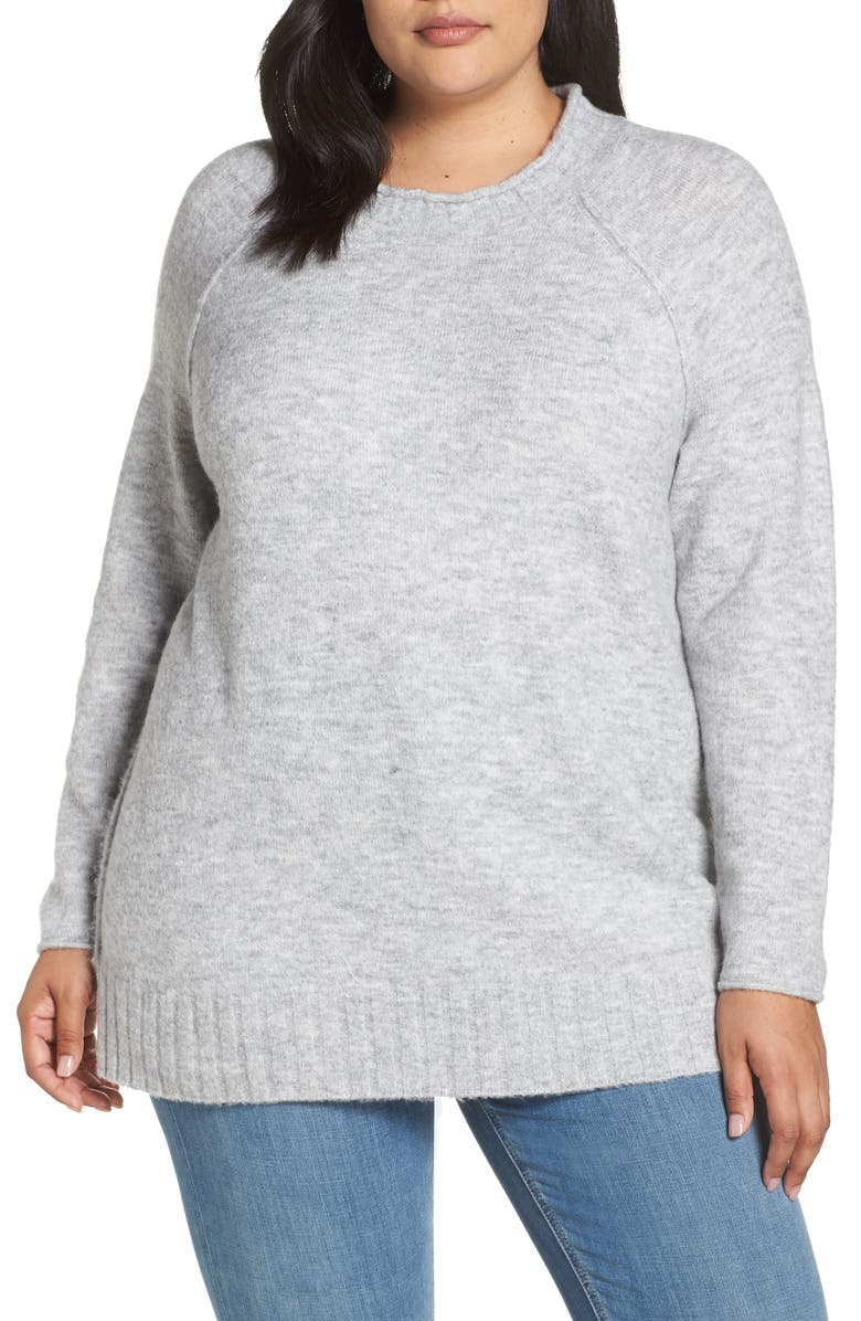 CASLON<SUP>®</SUP> Cozy Crewneck Sweater, Main, color, 030