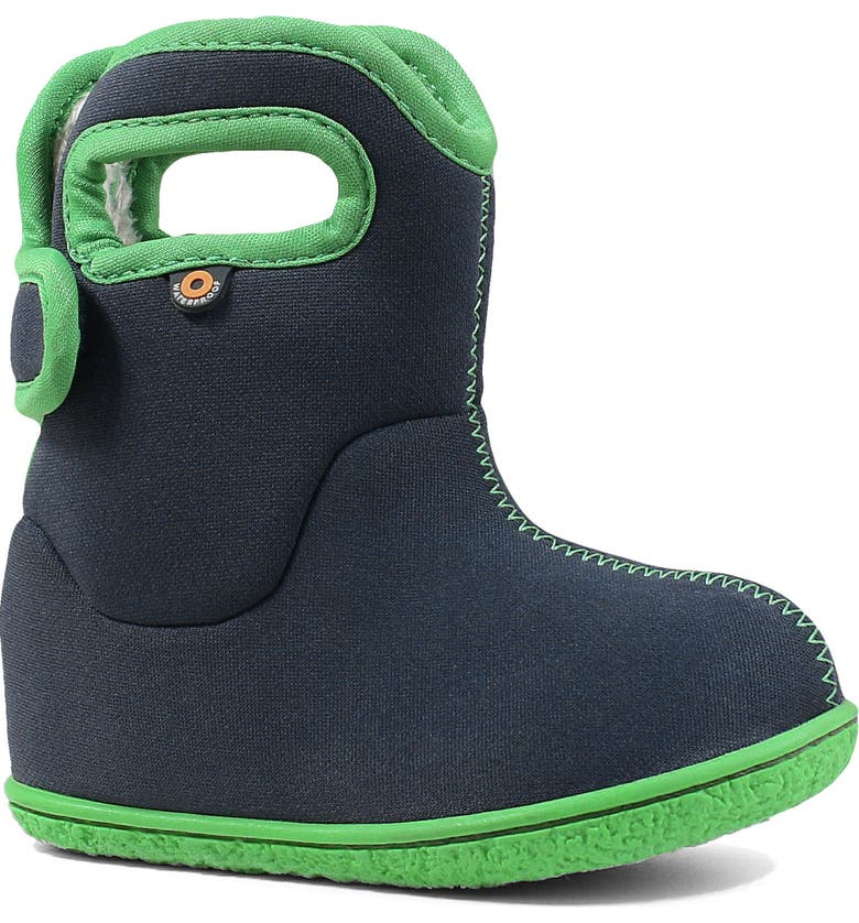 BOGS Baby Bogs Insulated Waterproof Rain Boot, Main, color, NAVY