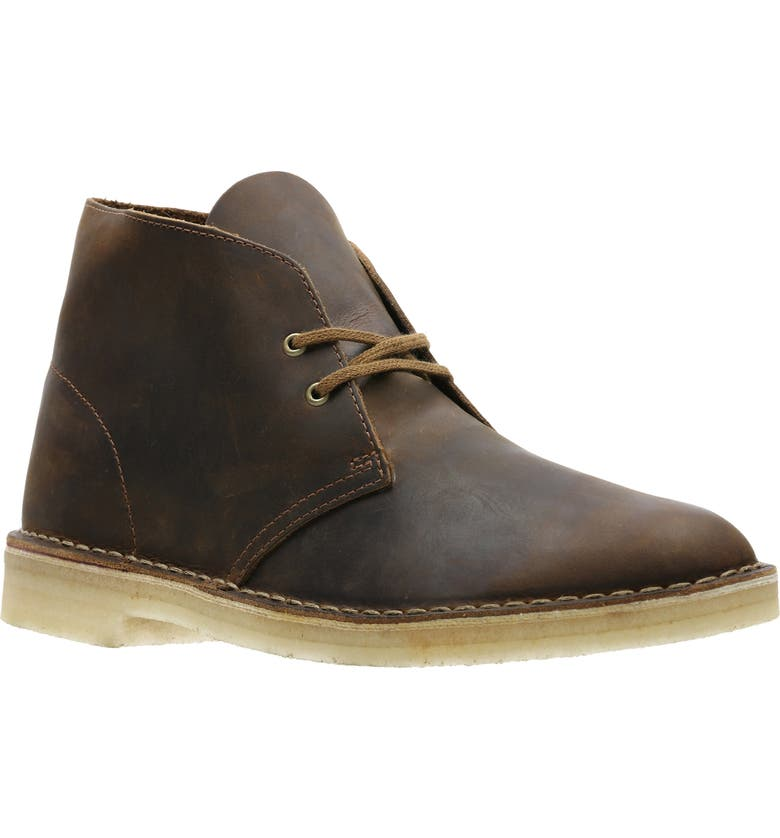 CLARKS<SUP>®</SUP> Originals 'Desert' Boot, Main, color, BEESWAX LEATHER