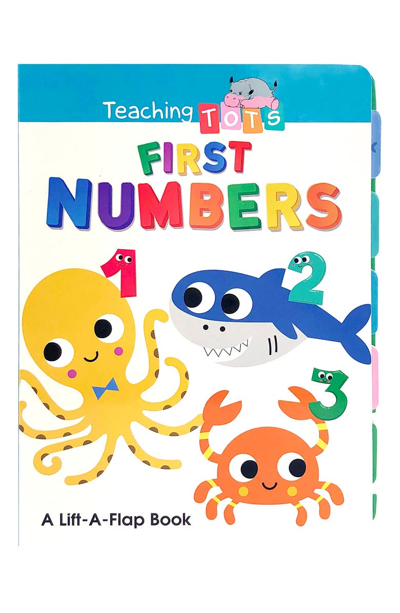 LITTLE HIPPO BOOKS First Numbers, Main, color, MULTI