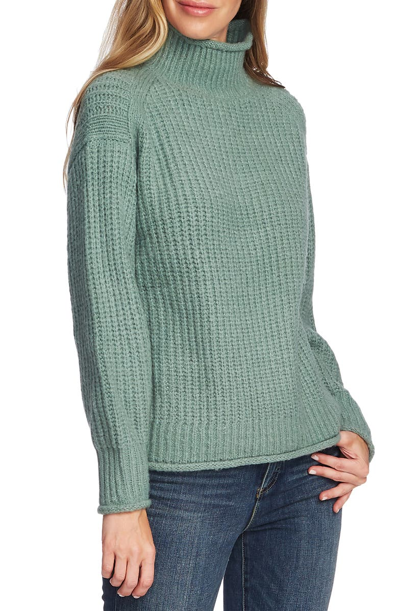 VINCE CAMUTO Mock Neck Sweater, Main, color, 356