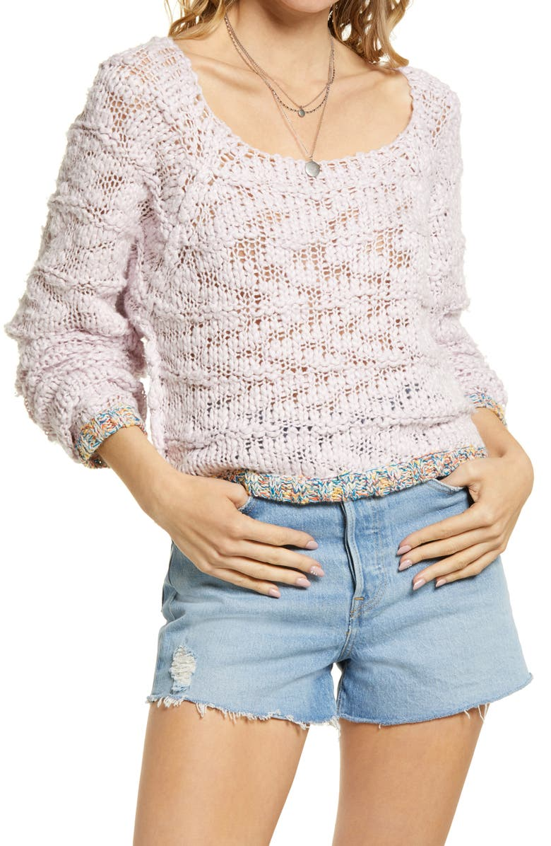 FREE PEOPLE West Palm Sweater, Main, color, 531