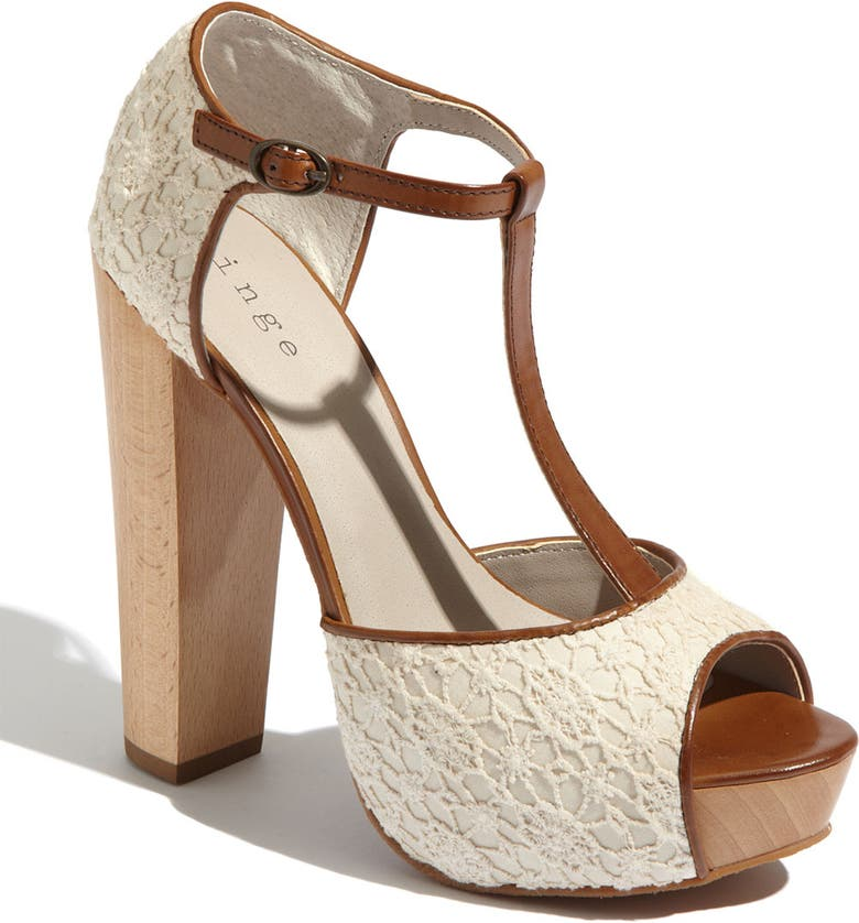 HINGE <sup>®</sup> 'Asher' T-Strap Sandal, Main, color, 101