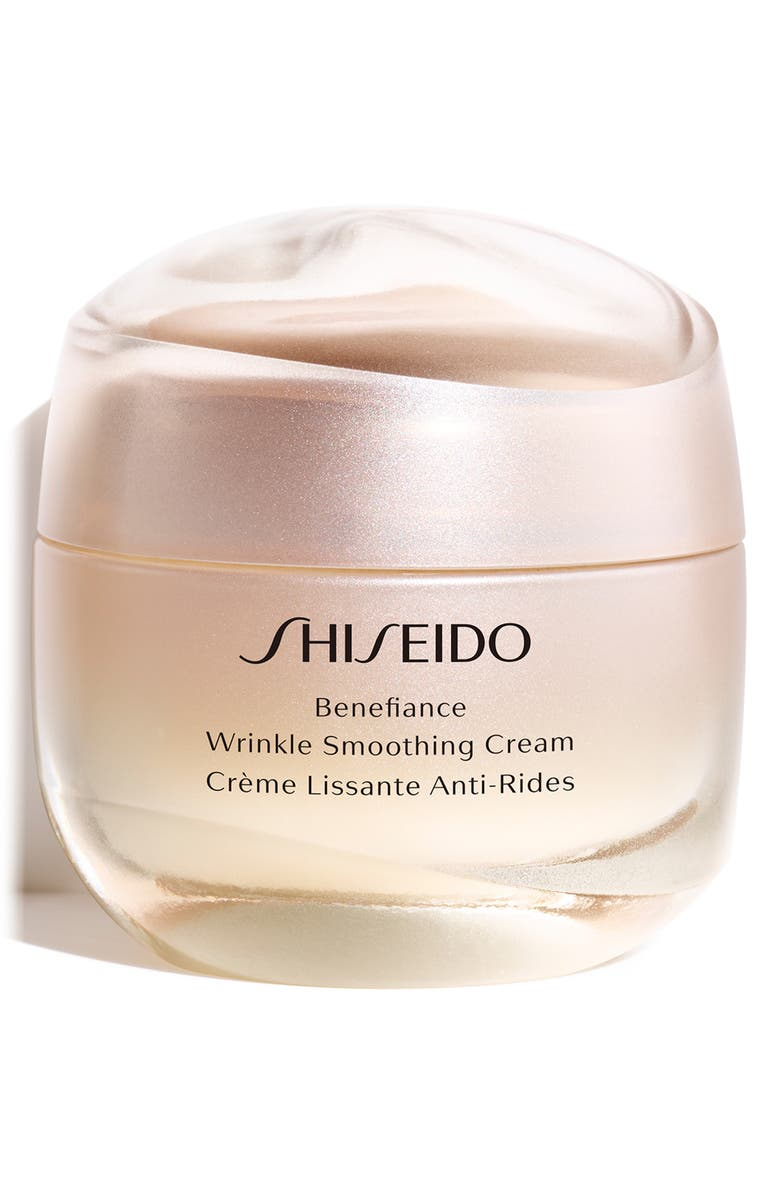 SHISEIDO Benefiance Wrinkle Smoothing Cream, Main, color, NO COLOR