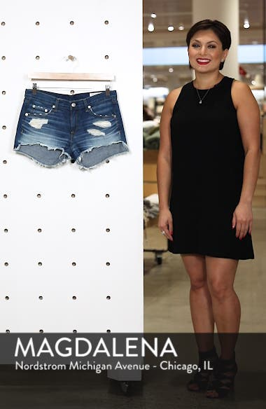 'The Cutoff' Denim Shorts, sales video thumbnail
