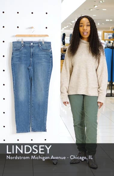 Slim Ankle Straight Leg Jeans, sales video thumbnail