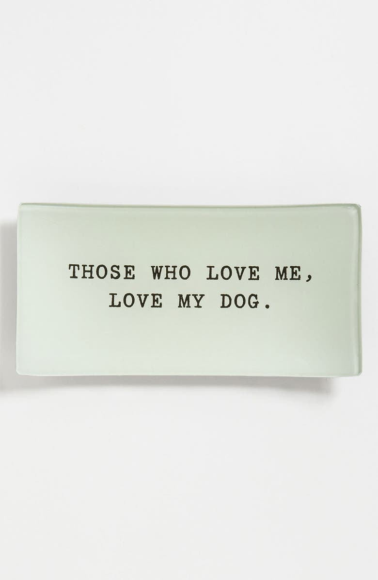BEN'S GARDEN 'Those Who Love Me' Trinket Tray, Main, color, 000