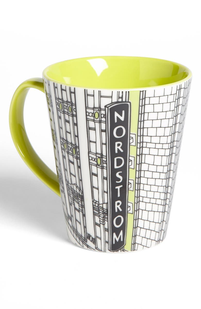 NORDSTROM Heritage Collection 'Seattle Flagship Storefront' Coffee Mug, Main, color, 300