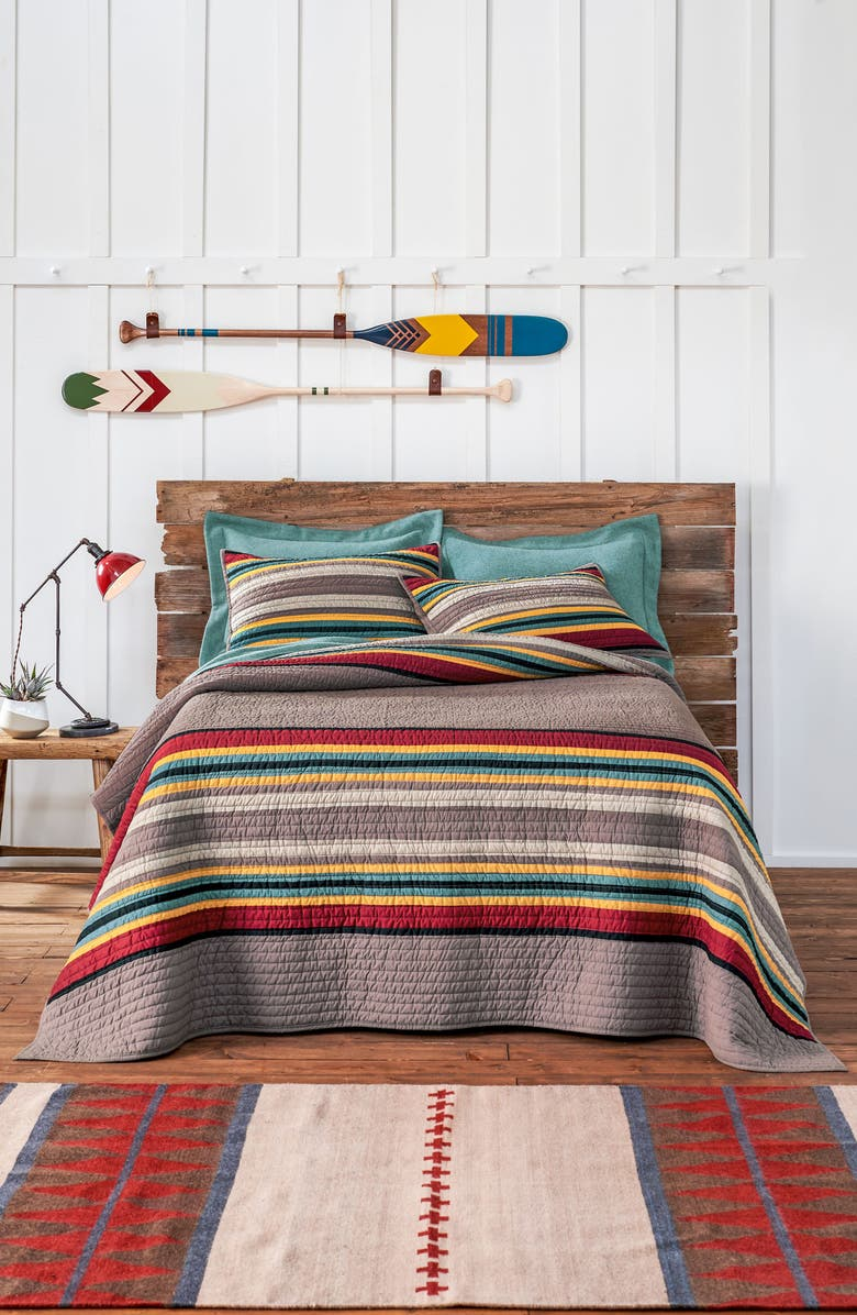 PENDLETON Yakima Camp Quilt & Sham Set, Main, color, 200