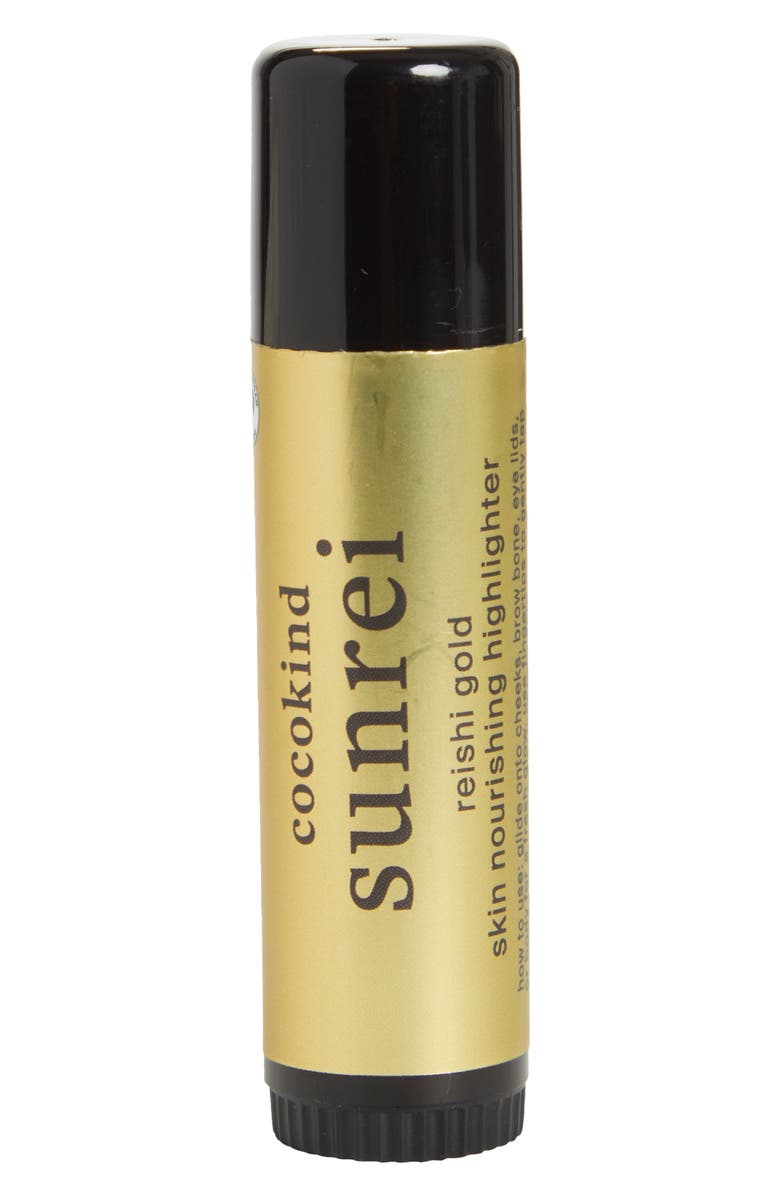 COCOKIND Sunrei Reishi Gold Highlighter Stick, Main, color, NO COLOR