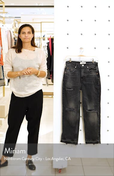 Lita Crop Straight Leg Jeans, sales video thumbnail