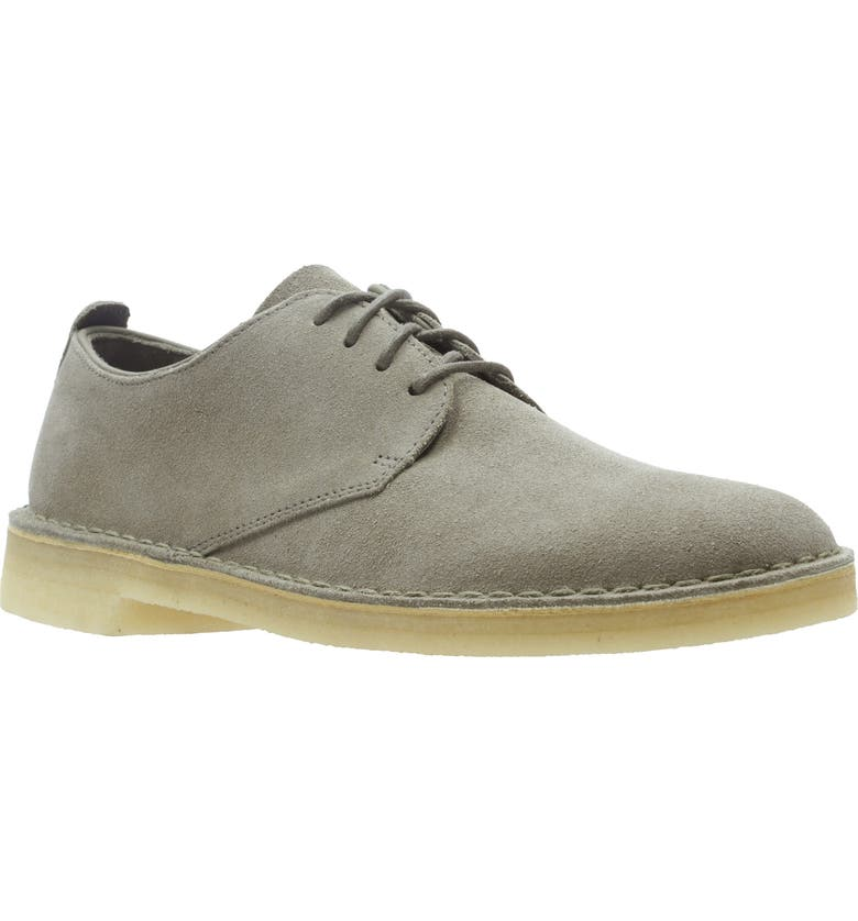 CLARKS<SUP>®</SUP> 'Desert London' Plain Toe Derby, Main, color, 021